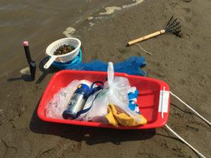 潮干狩り必要道具