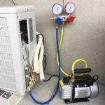 DIY!エアコンの取り付け完了 – その2