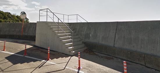 高松海岸入口